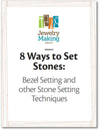 Learn everything you need to know about how to set stones in jewelry in this free eBook on stone-setting and more.
