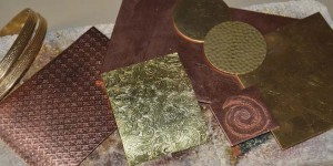 Learn how to solder copper metals in this alternative metals jewelry making eBook.