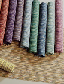 Learn about huck weaving with this FREE weaving project on handwoven towel.