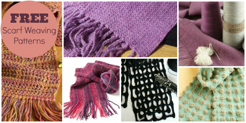 The Weaver's Playground: How to Weave a Scarf