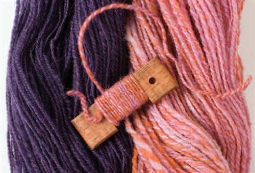 plying yarn with twist
