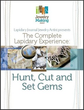 Learn everything you need to know about lapidary jewelry in this free ebook on how to hunt, cut, and set gemstones in jewelry.
