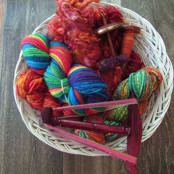 What message or story does your handspun basket whisper to you? Photo by Debbie Held