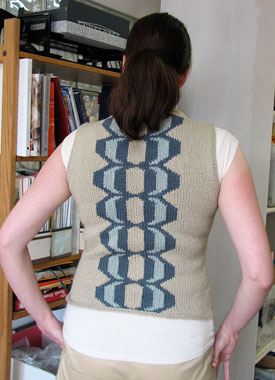 Knitting Gallery - Imprint Tank Erin Back