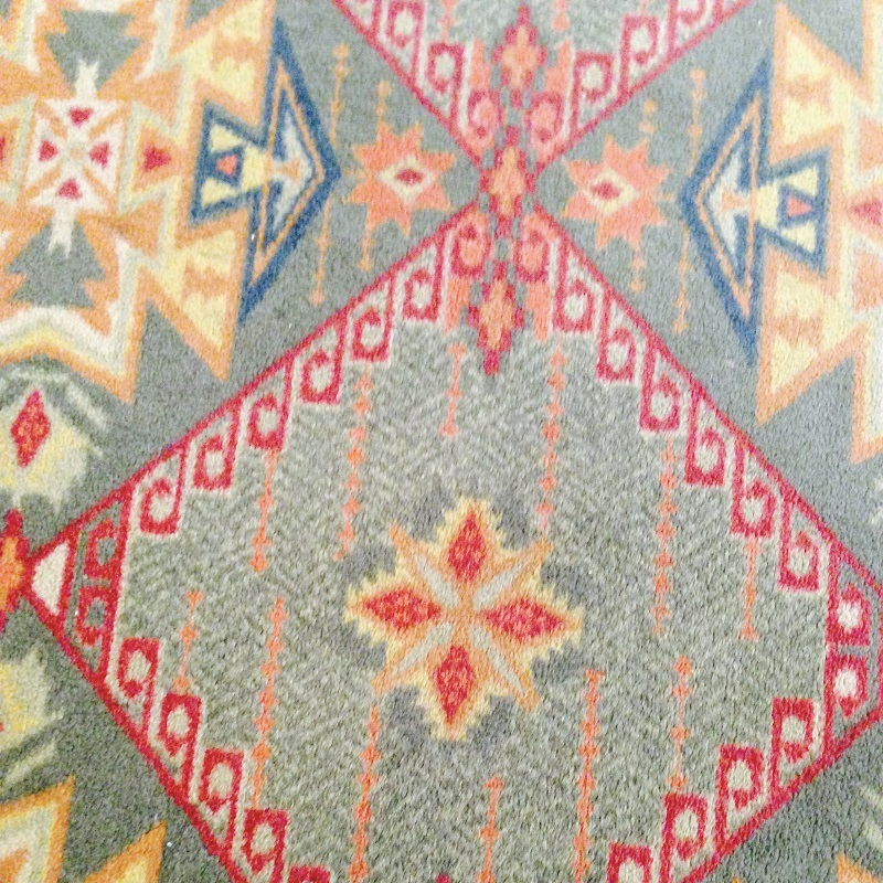 inspiring carpet designs at the Tucson gem shows