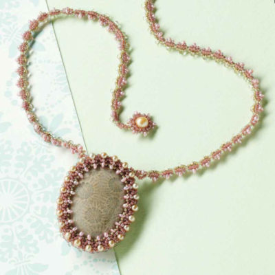 5 Free Patterns Using Custom Cabochon Settings