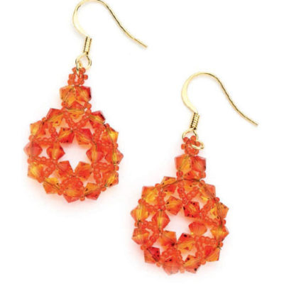 Free Instructions for Handmade Beaded Earrings