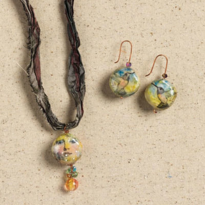 4 Free Mixed Media Jewelry Projects & Tutorials
