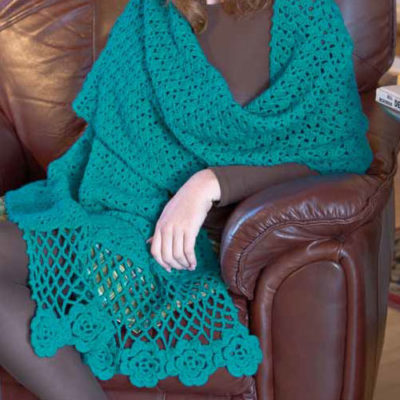 Free crochet shawl patterns.
