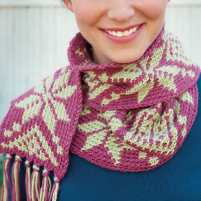 Free colorwork crochet patterns.