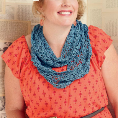 4 Free Crochet Infinity Scarf Patterns