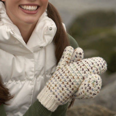 Free crochet mitten patterns.