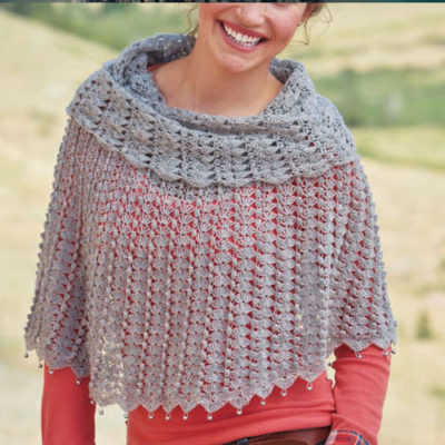 Free crochet poncho patterns.