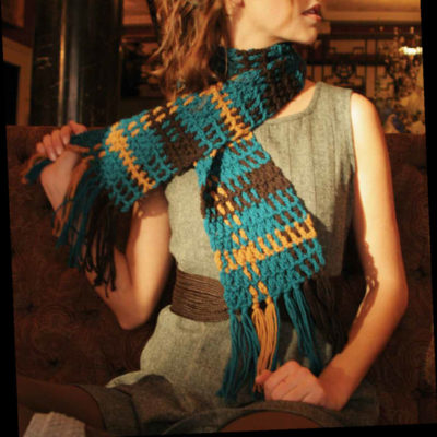 Free crochet scarf patterns.
