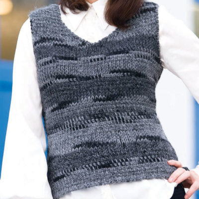 Free crochet vest patterns.