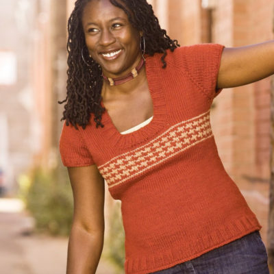 Free sweater knitting patterns.