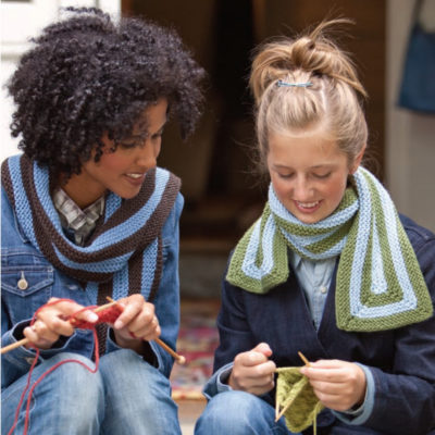 Free scarf knitting patterns.
