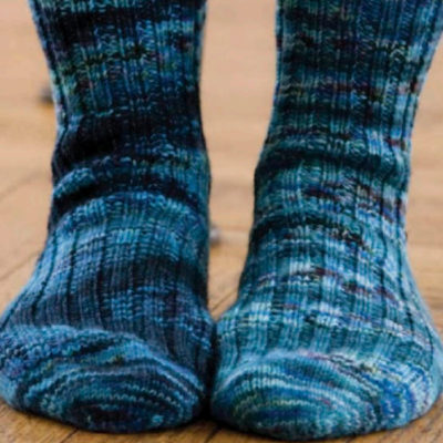 Free sock knitting patterns.