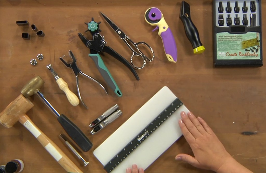 Leather Jewelry Making and Inspiring Ways to Repurpose Leather Hardware with Melissa Cable