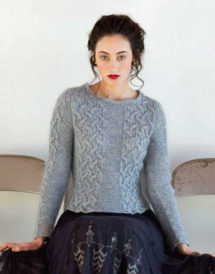 Lovely Irena Pullover, from the Barre Collection