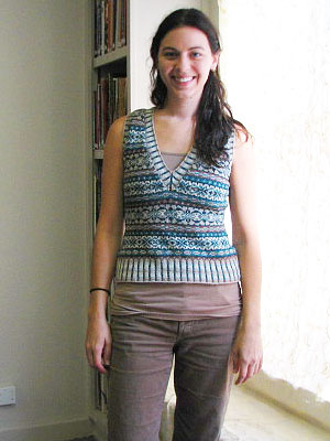 Annie Ivy League Vest