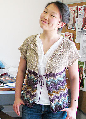 Knitting Gallery - Eunny Gallery Drawstring Raglan