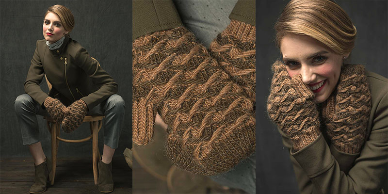 From Loom to Needles: The Jacquard Mittens Kit