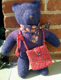 bear with bag