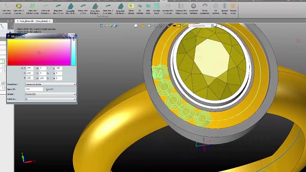 see how you can make jewelry designs with CAD