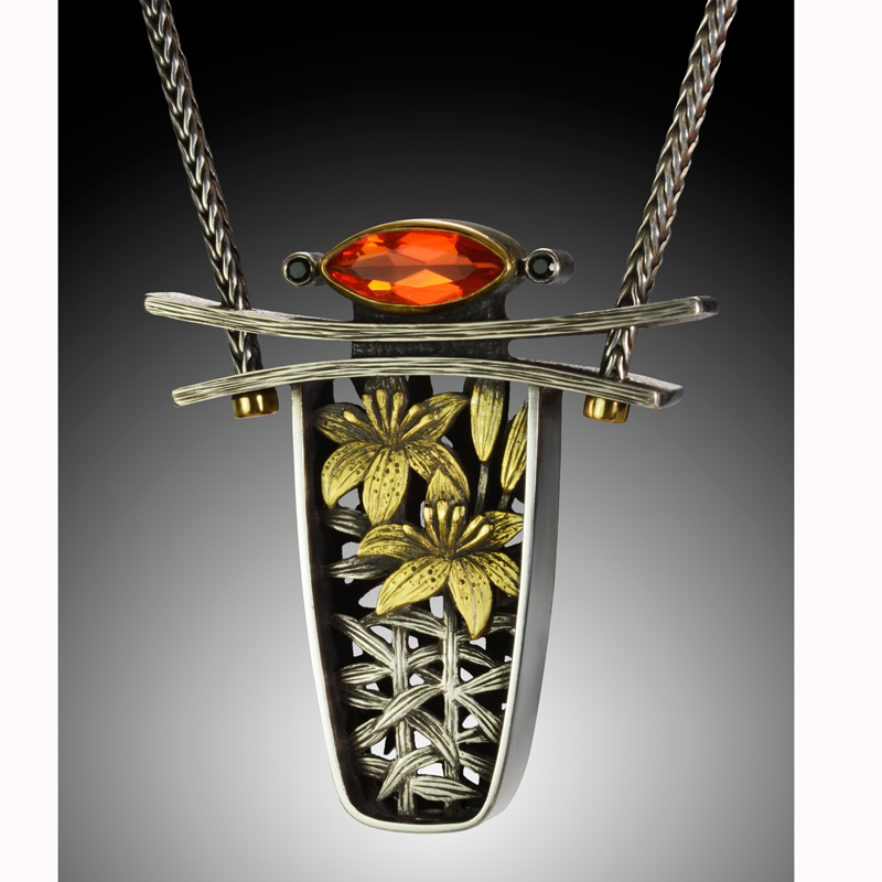Tiger Lily by jewelry artist Suzanne Williams