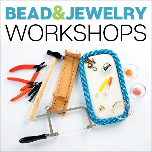 Interweave's online beading and jewelry workshops