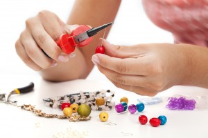 jewelry making with beads