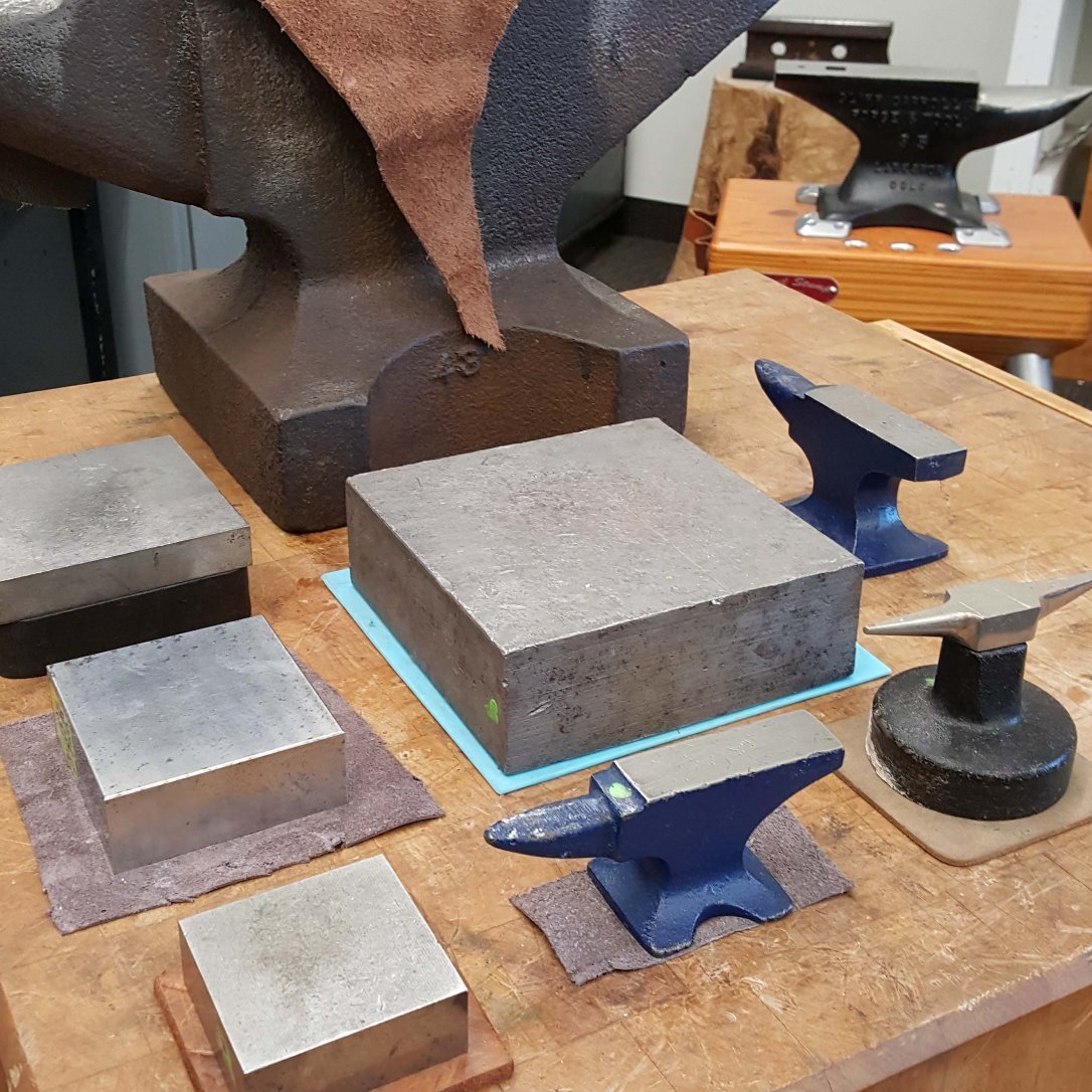 jewelry tools: anvils and bench blocks