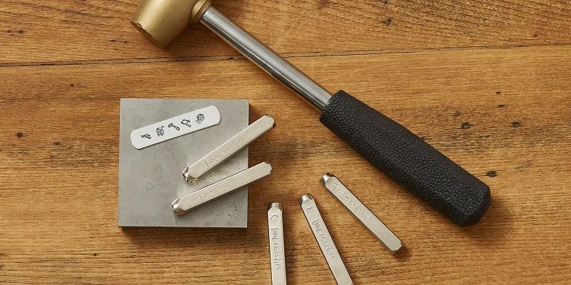 New Jeweler's Tools Metal Stamps, Plus Top Metal Stamping Tips