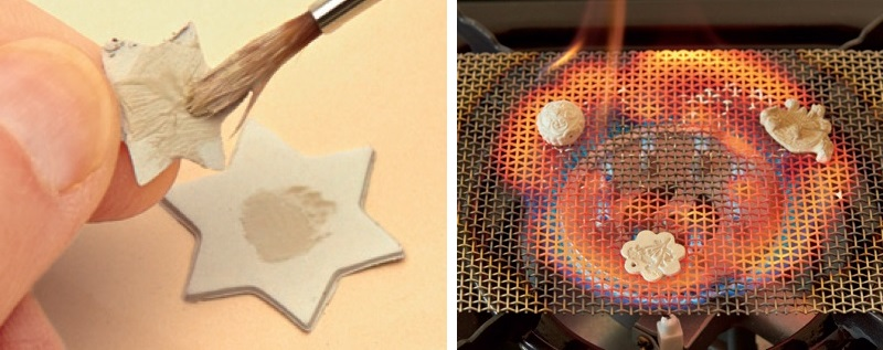 Did you know you can attach metal clay with slip and fire metal clay jewelry on a gas stove?