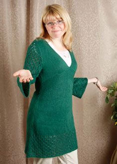 Knitting Gallery - Kaftan Dress Toni