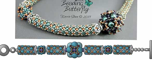 Kassie Shaw DIY Bead Diagrams complex diagrams for 3D designs