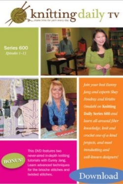 Knitting Daily TV Series 600