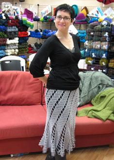 Knitting Gallery -Lara's Dance Skirt
