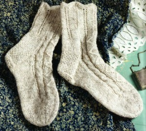 We love these sweet folk socks of yore. Learn how to knit your own today!