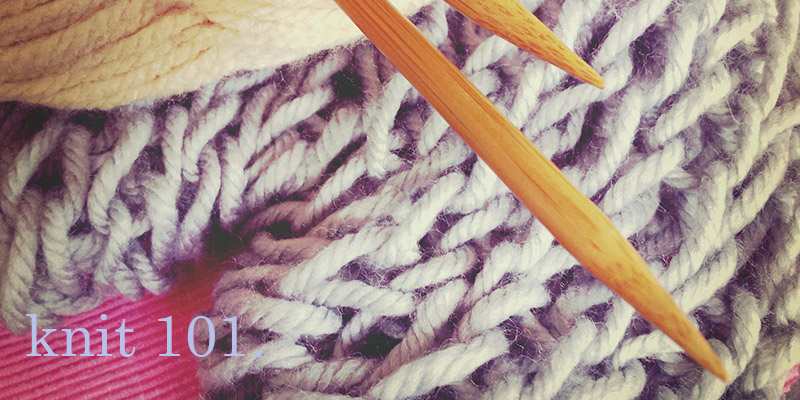 Knit 101: Swatch Goals