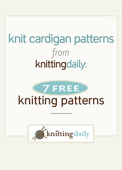 Take your pick from 7 free cardigan knitting patterns, all in this one amazing collection!