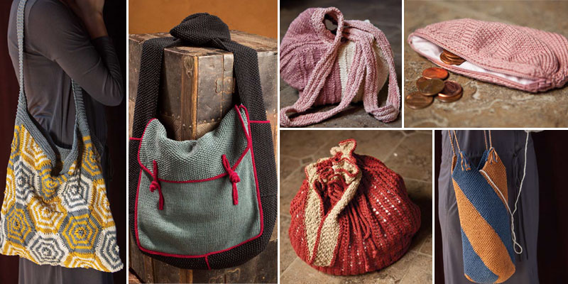 9 Free Knitting Bag Patterns You Have to Knit