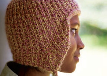 Learn how to knit this knitted earflap hat in our free eBook.