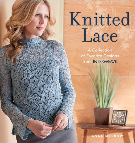 Explore the world of knitted lace with beautiful patterns for sweaters, shawls, and more!