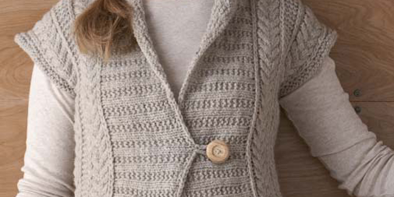 Make a Knit Vest: 5 Free Knitted Vest Patterns from Knitting Daily