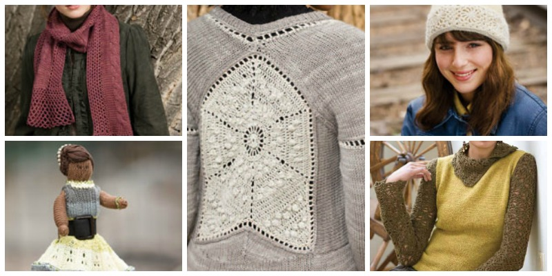 Knitting and Crochet Patterns eBook: 5 Free Patterns