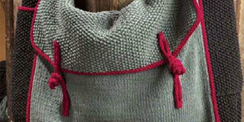 Knitting Bag Patterns: 9 Free Knitting Patterns You Have to Knit Interweave
