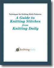 Learn everything you need to know about the types of knitting stitches in this FREE guide.