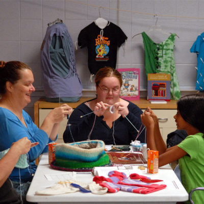 Take your craft group to the library and enjoy crafting with others.